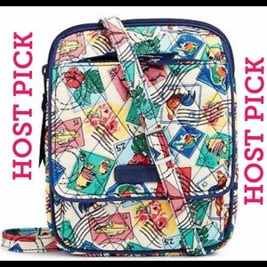 Vera Bradley 🌈 Mini Hipster Cuban Stamps